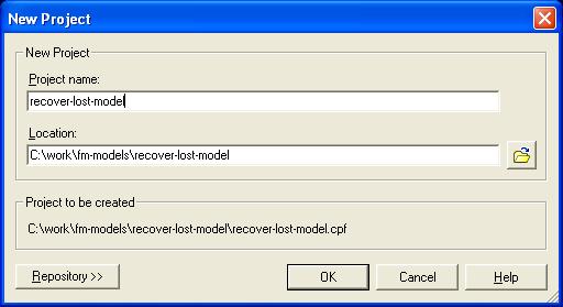 Create a Framework Model