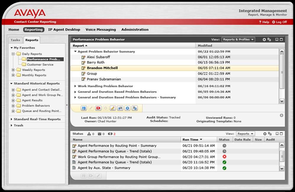 2006 - ADF Customer Screenshot