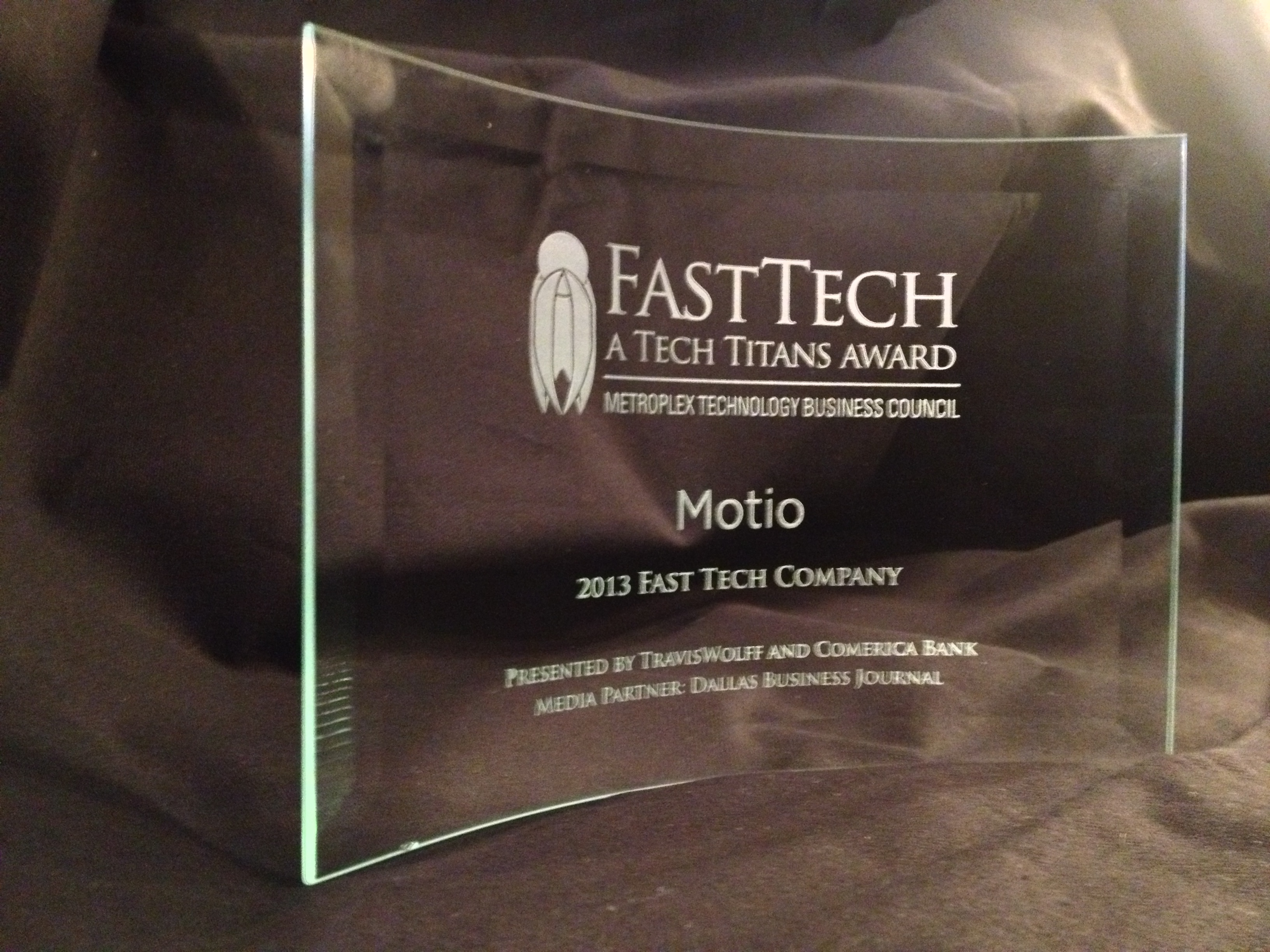 Motio Fast Tech Award